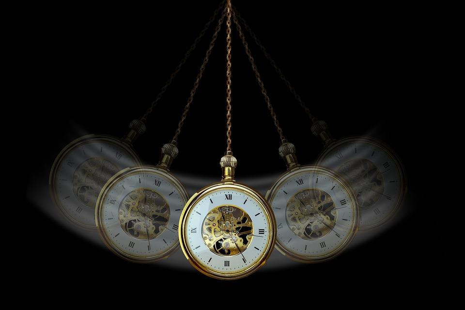 hypnotizující hodiny