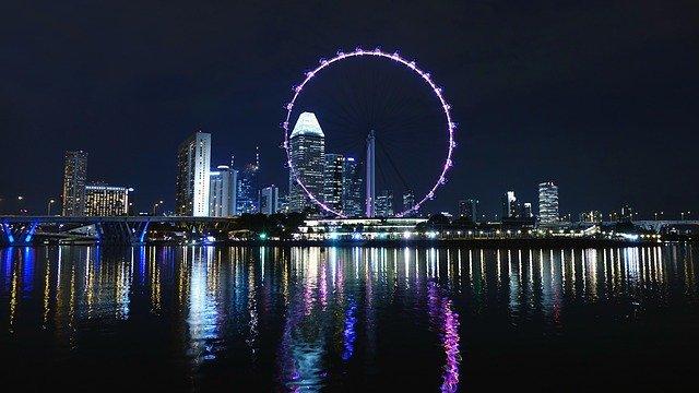 singapur obří kolo