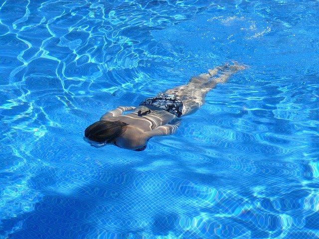 ph v bazénu