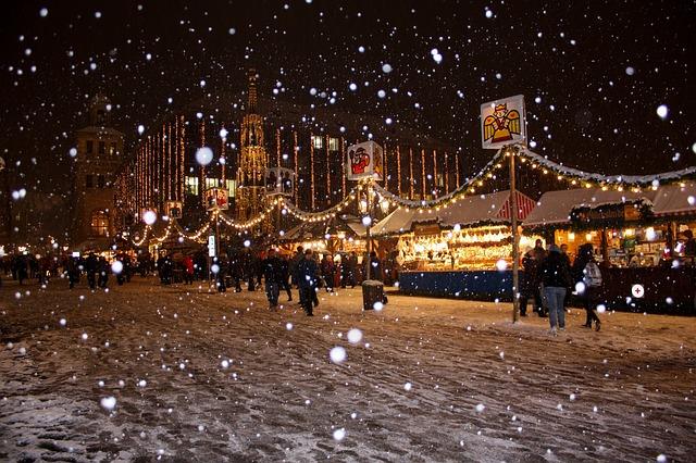 zimní Vánoční trhy