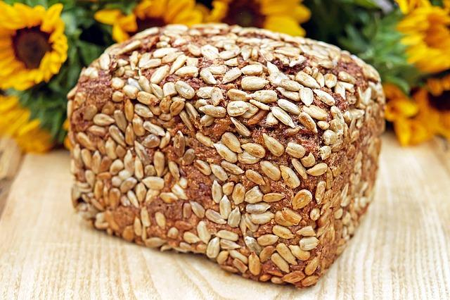 Slunečnicový chléb